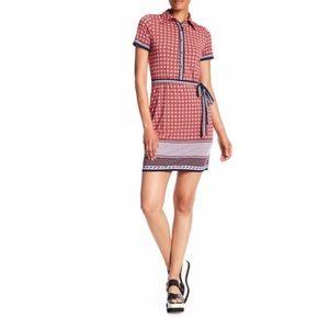 Max Studio | Tie Waist Shirt Dress | Size Medium